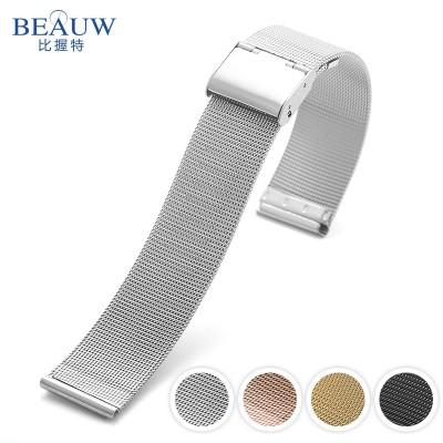 Milan stainless steel mesh steel watchband chain CK DW watch strap watch accessories for men and women