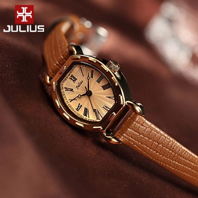 Gather the female table to restore ancient ways girls watch girl students han edition contracted fashion belt really quartz watch