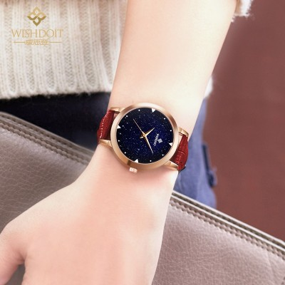 Wisconsin's watch Han edition waterproof students fashion belt quartz leisure contracted female star table