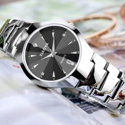 South Korea fashion watches; male and female students han edition contracted table couple watch luminous ultra-thin quartz expression