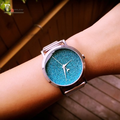 Ms gift Enmex starlight is concise and creative design neuter female table sky series watch