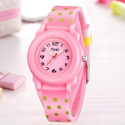 Children watch girls han edition fashion girls lovely compact waterproof of primary and middle school students less girls watch quartz watch