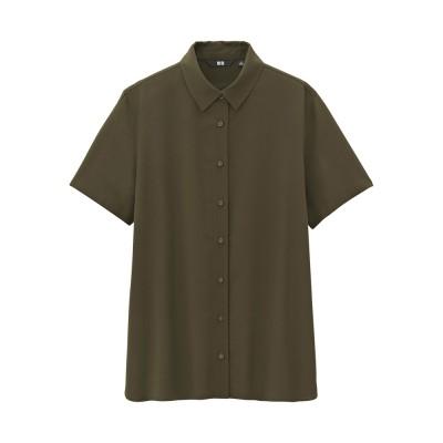 Fancy dress shirt (short sleeved) 181624 UNIQLO