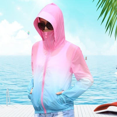 2017 new summer sun protection clothing female all-match short thin breathable loose coat Korean beach wear cardigan tide