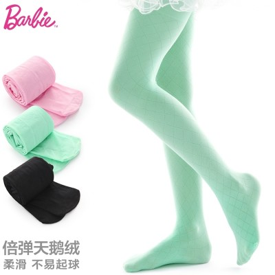Bobbi children tights, Bo Baobao spring white stockings, 3 female children's wear, 5 dozen leggings, 7 velvet, 9 dance socks