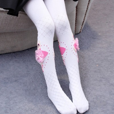 Children tights, spring 3, autumn 5, baby 7, white, 9 years old, dance socks, princesses, women's wear, leggings, socks