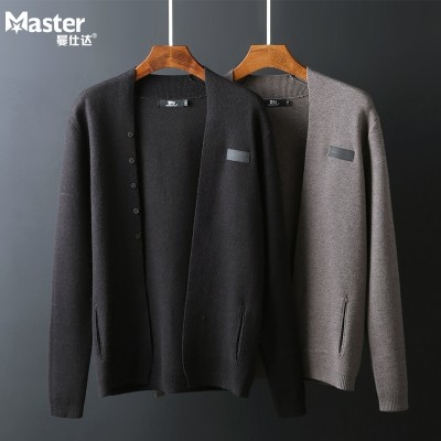 The spring and autumn season Manchester homestead men's sweater coat young men wear sweater cardigan sweater Korean male tide