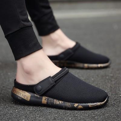 Summer style flip flops, Korean Style Men's flip flops, men's sandals, Baotou sandals, beach shoes