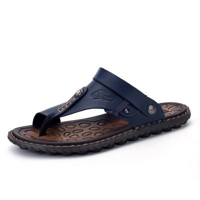 2017 toe sandals sandals male Korean men sandals slippers shoes slip youth summer dual-purpose