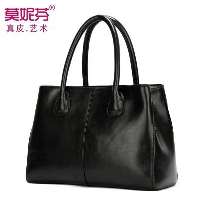 2017 new handbag bag leather handbag leather large shoulder bag women s casual spring and summer