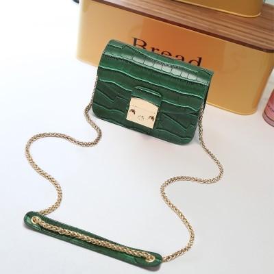 2017 new AUXO bag all-match chain bag bag Bag Satchel Bag Small Mini Han Banchao