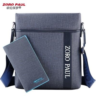 Zhuolun Paul bag business casual shoulder bag man SATCHEL BAG BAG BAG BAG Korean men tide