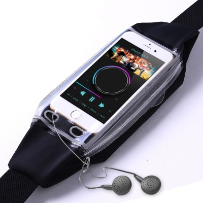 Sports equipment, waist bag, men's outdoor fitness running bag, ladies' multi-function waterproof invisible close fitting small mobile phone bag