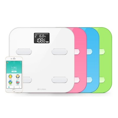 Cloud of wheat and good light Color body fat scale intelligence scale household human body fat mass scale electronic instrument precision test