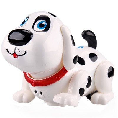 The Goldman toy robot dog electronic smart dog can walk and sing a baby's electric puppy toy