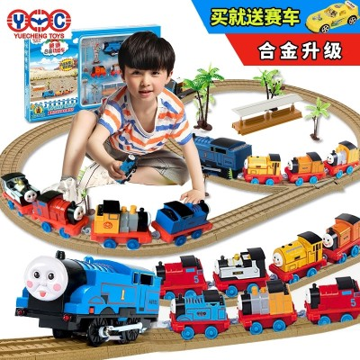 The more sincere Thomas the small train the train of the train of the train the train toy electric children of the train the children of the children's wisdom 3-6-10 years old boy girl