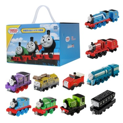 Thomas and his friend's alloy commuter train, a train for the inertia taxi Thomas jr