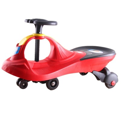 The baby of the limberle baby twister car, the one-three-six-year-old girl's toy wagging car