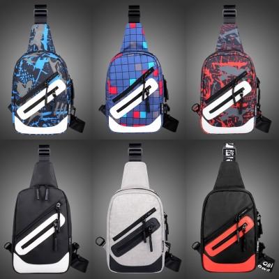 The Korean version of the men's shoulder bag is a bag of men's bag of men's bag