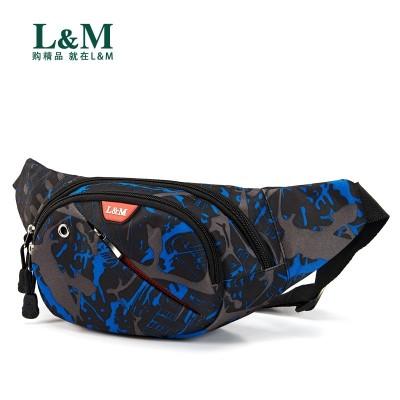 L&M man's bag of men's slanting shoulder bag men's bag of men's pack of men's pack of men's and women's pack of recreational sports women outdoor function