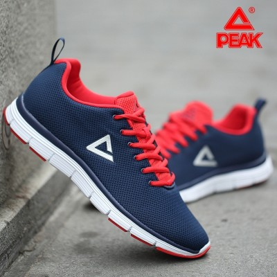 PEAK shoes for men 2017 summer new men's casual shoes' light and breathable mesh of sports shoes