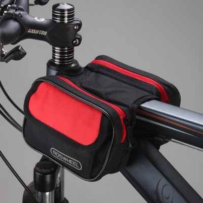 Lexuan bicycle saddle bag bag package before the beam mountain bike riding equipment bag bag bag tube bicycle accessories
