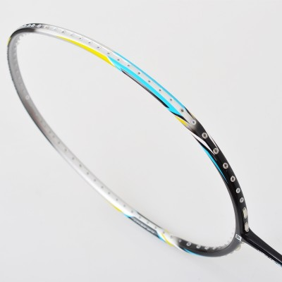 Full carbon badminton racket ultra light carbon nano fiber dual machine