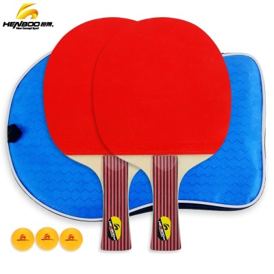 Tsunehiro table tennis racket dual table tennis racket grip penhold beginners finished bpq PPQ table tennis racket