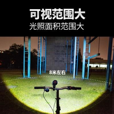 Flashlight, bright charge, super bright waterproof, 5000 long range searchlight, outdoor army, mini mini T6L2