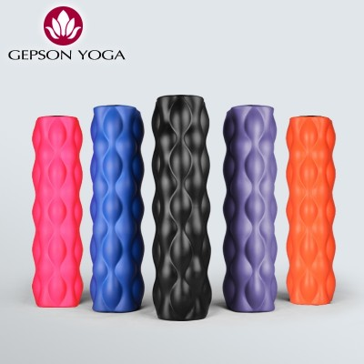 Jie Sen PU foam roller muscle relaxation massage roller keep Yoga column roller foam fascia Mace