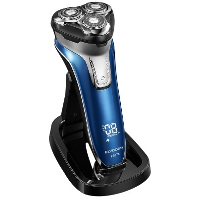 FLYCO body wash intelligent electric rechargeable shavers men's razor beard shaving cutter FS375
