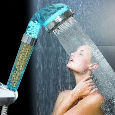 Shower nozzle water heater shower pengtou handheld shower booster penthouse home bath set sun flower