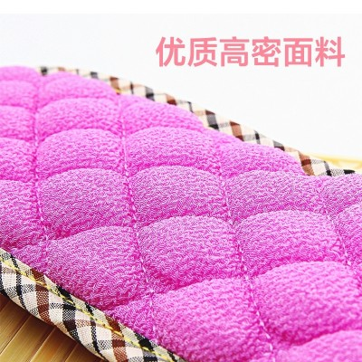 Cuozao towel artifact to pull back the sliver bath towel strong rubbing adult bathing gloves double back rubbing towel