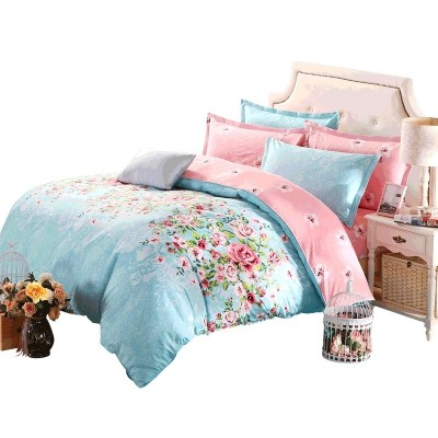 Nanjiren cotton four piece cotton summer bedding 1.8m bedding bedding three piece 1.5 meters