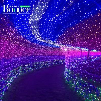 Waterproof outdoor LED holiday lights flashing light wedding New Year decoration lamp neon stars