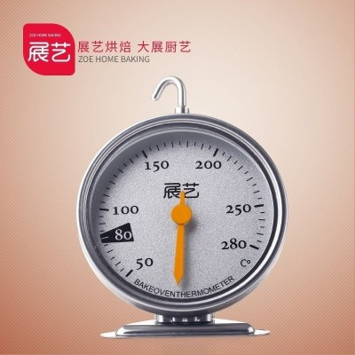 The stainless steel home of stainless steel is a stainless steel home-mounted oven thermometer