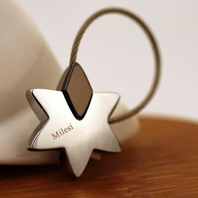 Millars stars Keychain car key chain key ring and key ring pendant.