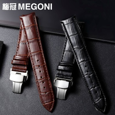 Watch with leather men and women can substitute DW CASIO Longines OMEGA Tissot Panerai accessories