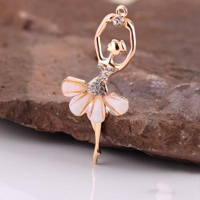 Creative Angel lovely rabbit hair ball Keychain car key chain pendant cartoon female small gift bag ornaments