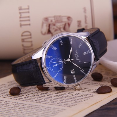 A pair of lovers watch waterproof watch men belt student table fashion female han edition contracted quartz watches