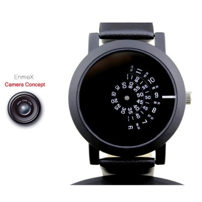 Valentine's day gifts Enmex unique design concept of neutral table camera turntable digital tide watch cool ideas