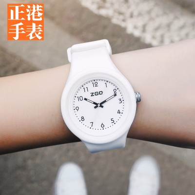 Han edition contracted zgo watches female students of middle school students' leisure waterproof noctilucent girl children girl junior middle school students