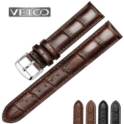 D way wristwatch cowhide leather strap pin buckles for men and women longines tissot casio beauty seiko DW