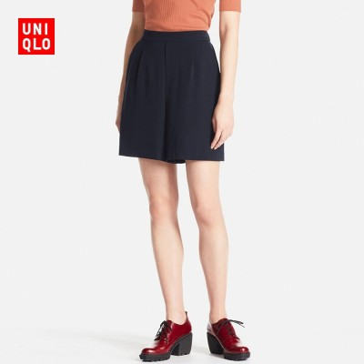 Womens high waisted shorts 192523 UNIQLO horn