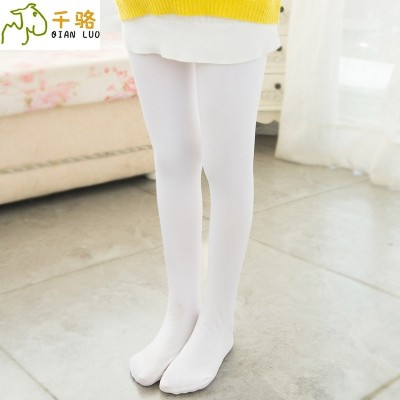 2017 summer Girls Dance socks, children's white tights, stockings, big children, tights, conjoined socks
