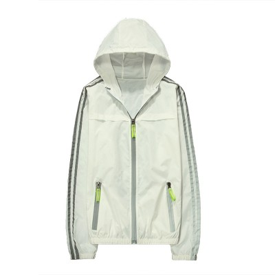 Summer coat male Korean version of the trend of ultra-thin students, pure color breathable lovers, sunscreen clothing, sports jacket, outdoor men
