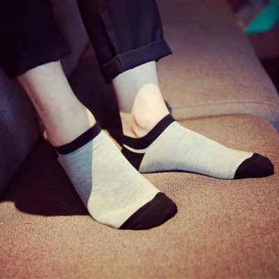 Men's socks socks socks for summer slim low boat socks sweat deodorant shallow mouth contact short tube sports socks