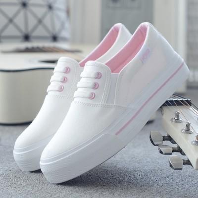 A summer white canvas shoes female Korean Boho white shoes shoes casual shoes shoes all-match students