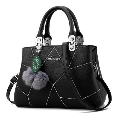 Ladies bag 2017 new fashion handbags handbags middle-aged mom Bag Shoulder Bag Messenger Bag Handbag.