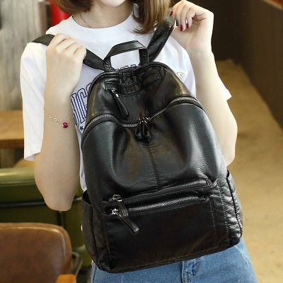 2017 new Korean female bag lady Oxford cloth backpack backpack female female shoulder bag bag bag